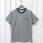 GOOD & WOOLEN『S/S POCKET TEE』(BORDER A)