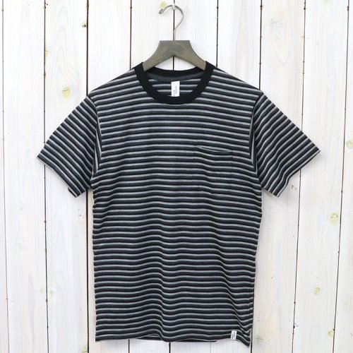 『S/S POCKET TEE』(BORDER B)