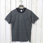 GOOD & WOOLEN『S/S POCKET TEE』(BORDER B)