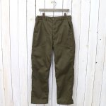 ENGINEERED GARMENTS WORKADAY『Fatigue Pant-Bedford Cord』(Olive)