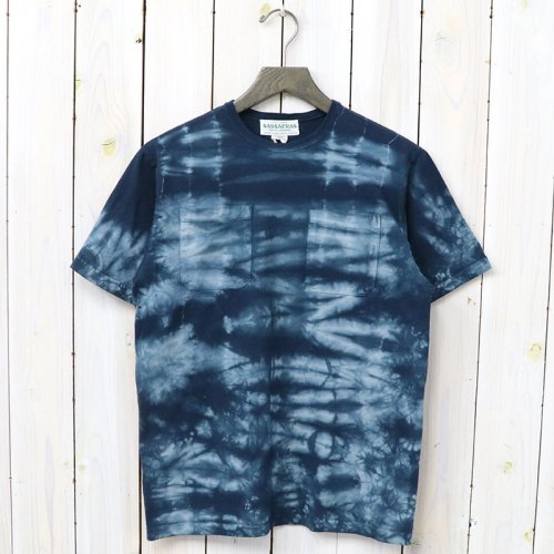 『CHOP CORNER D POCKET T』(NAVY)