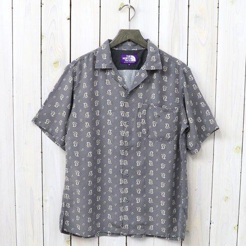 『Paisley H/S Shirt』(Gray)