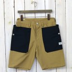 SASSAFRAS『FALL LEAF PANTS 1/2(60/40)』(BEIGE/NAVY)