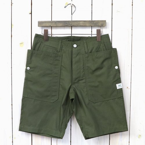 『FALL LEAF SPRAYER PANTS 1/2(RIPSTOP)』(OLIVE)