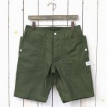 SASSAFRAS『FALL LEAF SPRAYER PANTS 1/2(RIPSTOP)』(OLIVE)