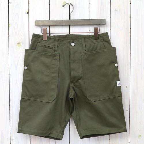 『FALL LEAF SPRAYER PANTS 1/2(CHINO)』(OLIVE)