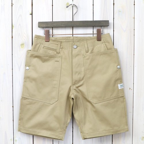 『FALL LEAF SPRAYER PANTS 1/2(CHINO)』(BEIGE)