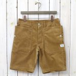 SASSAFRAS『FALL LEAF SPRAYER PANTS 1/2(SUMMER CORDUROY)』(BEIGE)