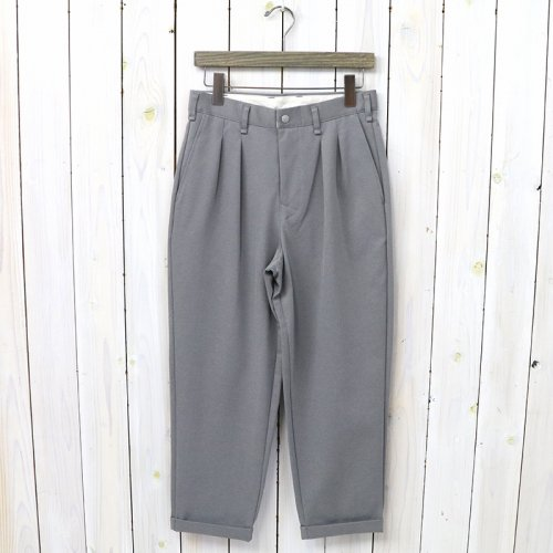『ADVANCE WIDE TROUSERS』(GRAY)