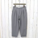 CURLY『ADVANCE WIDE TROUSERS』(GRAY)