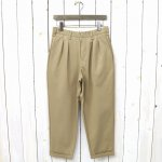 CURLY『ADVANCE WIDE TROUSERS』(BEIGE)
