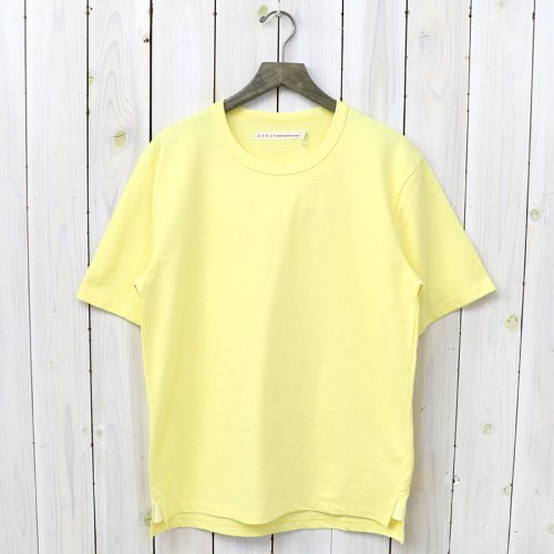『ADVANCE HS TEE』(YELLOW)