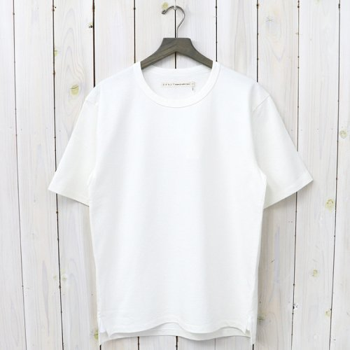 『ADVANCE HS TEE』(WHITE)