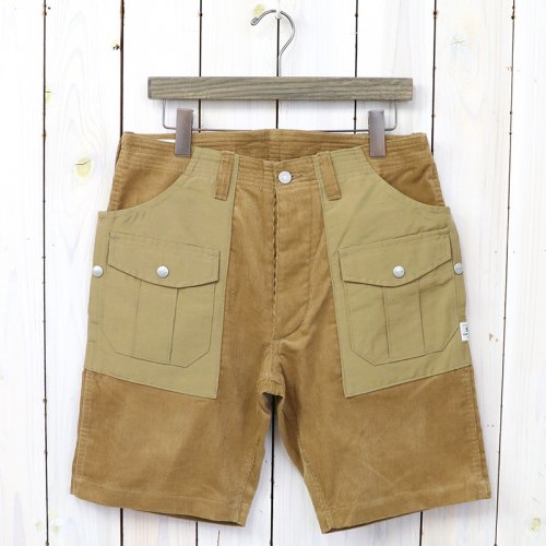 『BOTANICAL SCOUT PANTS 1/2(SUMMER CORDUROY×60/40)』(BEIGE×BEIGE)