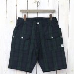 SASSAFRAS『BOTANICAL SCOUT PANTS 1/2(COTTON NYLON RIPSTOP)』(CHECK)