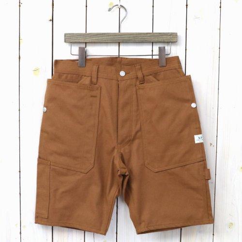 『FALL LEAF GARDENER PANTS 1/2(DUCK)』(BROWN)