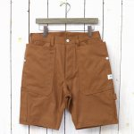 SASSAFRAS『FALL LEAF GARDENER PANTS 1/2(DUCK)』(BROWN)