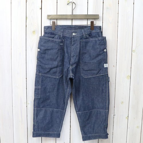 『FALL LEAF GARDENER PANTS 2/3(8oz CHAMBRAY)』(BLUE)