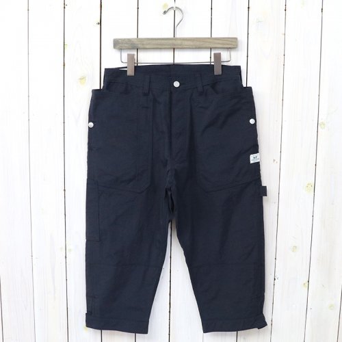 『FALL LEAF GARDENER PANTS 2/3(NYLON OXFORD)』(NAVY)