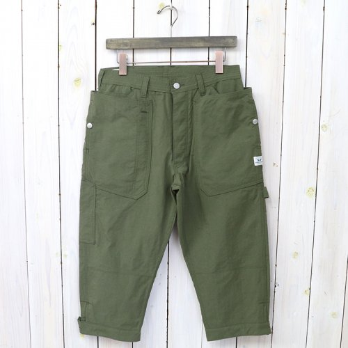 『FALL LEAF GARDENER PANTS 2/3(NYLON OXFORD)』(OLIVE)