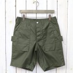 SASSAFRAS『TREE CHOPPER PANTS 1/2(POPLIN)』(OLIVE)