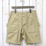 SASSAFRAS『TREE CHOPPER PANTS 1/2(POPLIN)』(BEIGE)
