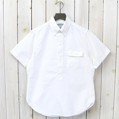 『GREEN THUMB SHELL SHIRT 1/2(OXFORD)』(WHITE)