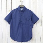 SASSAFRAS『GREEN THUMB SHELL SHIRT 1/2(CHAMBRAY)』(INDIGO)