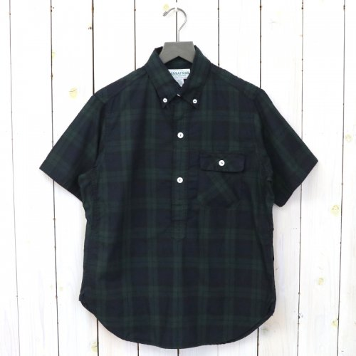 『GREEN THUMB SHELL SHIRT 1/2(OXFORD)』(CHECK)