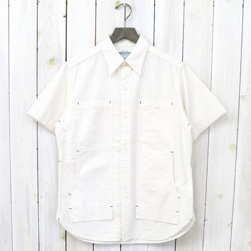 『FEEL SUN SHIRT 1/2(5oz CHAMBRAY)』(NATURAL)