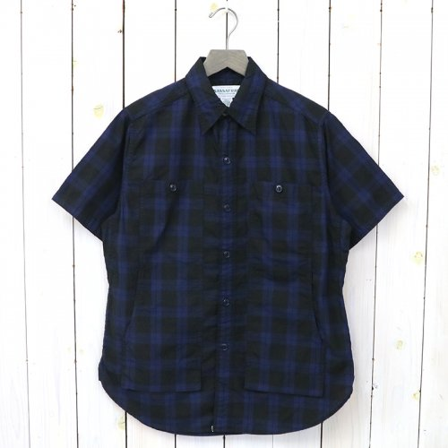 SASSAFRAS『FEEL SUN SHIRT 1/2(OXFORD)...