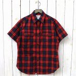 SASSAFRAS『C&P.O. APRON SHIRT 1/2(OXFORD)』(CHECK)