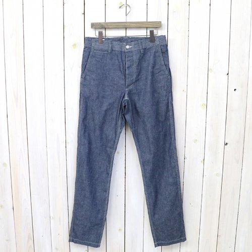 『SPRAYER PANTS(8oz CHAMBRAY)』(BLUE)