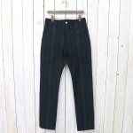 SASSAFRAS『SPRAYER PANTS(COTTON NYLON RIPSTOP)』(CHECK)