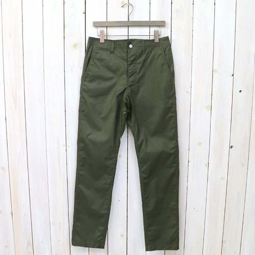 『SPRAYER PANTS(POPLIN)』(OLIVE)