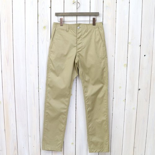『SPRAYER PANTS(POPLIN)』(BEIGE)