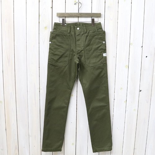 『FALL LEAF SPRAYER PANTS(CHINO)』(OLIVE)