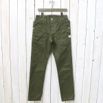 SASSAFRAS『FALL LEAF SPRAYER PANTS(CHINO)』(OLIVE)