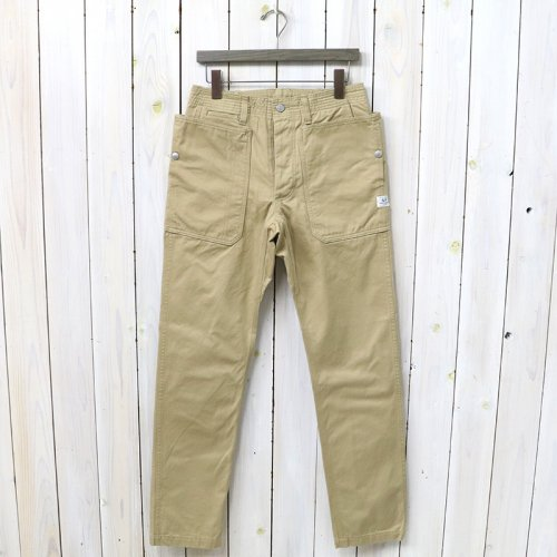 『FALL LEAF SPRAYER PANTS(CHINO)』(BEIGE)