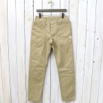SASSAFRAS『FALL LEAF SPRAYER PANTS(CHINO)』(BEIGE)