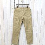 SASSAFRAS『FALL LEAF SPRAYER PANTS(CHINO)』(BEIGE)