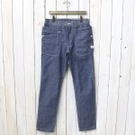 SASSAFRAS『FALL LEAF SPRAYER PANTS(8oz CHAMBRAY)』(BLUE)