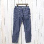 SASSAFRAS『FALL LEAF SPRAYER PANTS(8oz CHAMBRAY)』(BLUE)