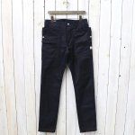 SASSAFRAS『FALL LEAF SPRAYER PANTS(8oz WEST POINT DENIM)』(INDIGO)