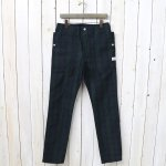 SASSAFRAS『FALL LEAF SPRAYER PANTS(COTTON NYLON RIPSTOP)』(CHECK)