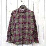 INDIVIDUALIZED SHIRTS『CHECK-G79MTP』(GREY/BURGUNDY/YELLOW)
