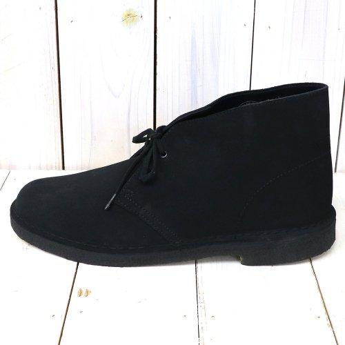 Clarks『Desert Boot』(Black Suede)