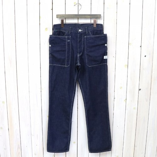 『FALL LEAF PANTS(8oz DENIM)』(INDIGO)
