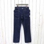 SASSAFRAS『FALL LEAF PANTS(8oz DENIM)』(INDIGO)