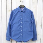 THE NORTH FACE PURPLE LABEL『Cotton Polyester Typewriter Shirt』(Blue)